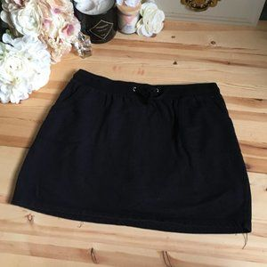 Cotton Terry Cloth Skort w/ POCKETS